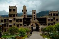 四川茂县羌城风景图片(18张)