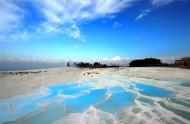 壮观的棉花堡温泉图片(12张)