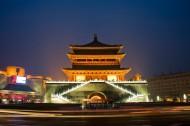西安钟楼图片(5张)