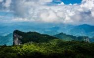 湖南张家界天门山风景图片(12张)