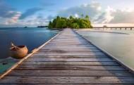 马尔代夫曼德芙岛风景图片(25张)