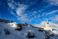 四川高尔寺山雪景图片(9张)