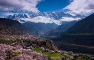 西藏林芝南迦巴瓦峰风景图片(14张)