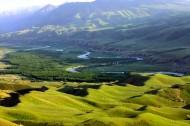 新疆库克苏河风景图片(11张)