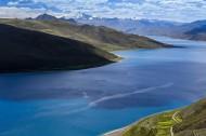西藏羊卓雍错风景图片(16张)