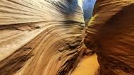 陕西甘泉雨岔大峡谷风景图片(10张)