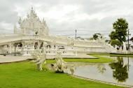 泰国清莱灵光寺风景图片(9张)