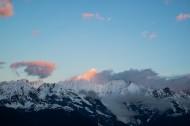 云南梅里雪山日出风景图片(15张)
