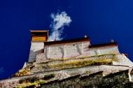 西藏雍布拉康图片(12张)