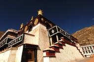 西藏哲蚌寺风景图片(7张)