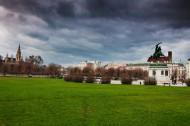 奥地利首都维也纳秋天风景图片(8张)