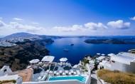 蓝色的爱琴海风景图片(14张)