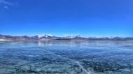 西藏冬日少女湖普姆雍措风景图片(12张)