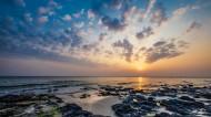 广西北海涠洲岛日落风景图片(8张)