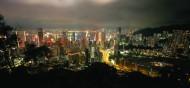 香港太平山顶夜景图片(5张)