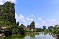 广西桂林遇龙河风景图片(12张)