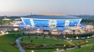 乌克兰顿巴斯竞技场图片(10张)