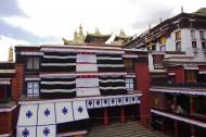 西藏扎什伦布寺风景图片(13张)