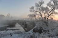 贵州遵义新华桥雪景图片(12张)