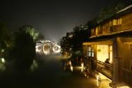 浙江桐乡乌镇夜景图片(8张)