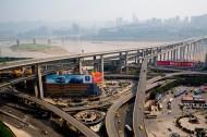 重庆菜园坝立交桥图片(3张)