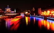 南京夫子庙夜景图片(26张)