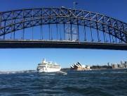 澳大利亚悉尼单孔大桥风景图片(18张)