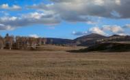 深秋苍凉的乌兰布统草原风景图片(13张)