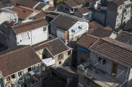 被城市包围的城中村建筑风景图片(10张)