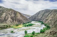新疆克尔古提峡谷风景图片(10张)