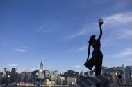 香港尖沙嘴星光大道图片(5张)
