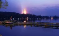 浙江杭州西湖夜景图片(11张)
