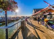 美国旧金山渔人码头风景图片(7张)