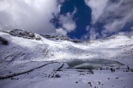 四川达古冰山风景图片(24张)