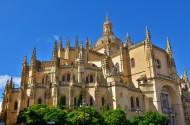 西班牙塞戈维亚大教堂图片(9张)