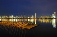美国查尔斯河夜景图片(17张)