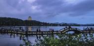 浙江杭州西湖夜景图片(8张)