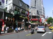 繁华的台北西门町图片(30张)