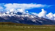 西藏念青唐古拉山脉风景图片(18张)