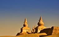 内蒙古额济纳黑水城风景图片(18张)