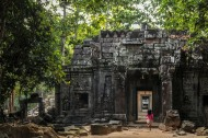 柬埔寨吴哥窟风景图片(11张)