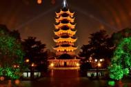 苏州瑞光塔景色图片(9张)