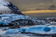 冰岛瓦特纳冰川图片(15张)