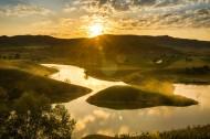 内蒙古蛤蟆坝清晨风景图片(6张)