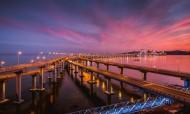 辽宁大连星海湾大桥图片(10张)
