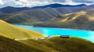西藏羊卓雍错风景图片(8张)