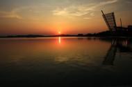 江苏无锡蠡湖夕阳风景图片(8张)