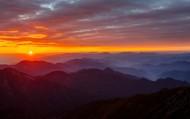 陕西太白山日出风景图片(20张)