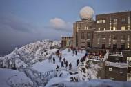 安徽雪后黄山风景图片(7张)