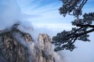 安徽黄山雪景树挂图片(12张)